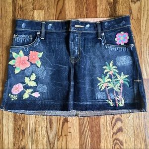 People for Peace Skirts - $128 People for Peace Denim Jean skirt 28